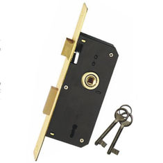 40 * 70mm Mortise Lock Body Door Lock Body High Security For Home Entrance