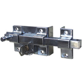 China Zinc Alloy Square Door Lever Lock For Outer Door Normal Or Cross Keys supplier