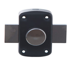 China Home Door Security Rim Lock Iron / Zinc Latch Painting Finish Iso9001 supplier