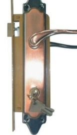 China Commercial Double Mortise Lock 300WY , Single Cylinder Mortise Lock factory