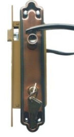 China Copper Antique Mortise Door Lock 450WY Fashionable Appearance factory