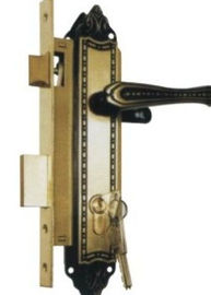 China 2 Inch Double Mortise Lock , Bedroom Double Cylinder Mortise Lock distributor
