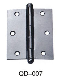 China Black Gray Stainless Steel Iron Door Hinges Ball Bearing For Wooden Door distributor