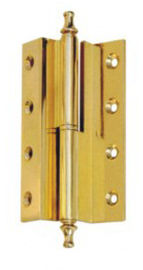 China Adjustable Wooden Metal Self Closing Door Hinges / Yellow Aluminium Door Hinges distributor