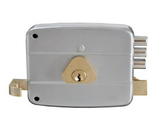China Adjustable Door Thickness Custom Rim Locks / Zinc Latch Rim Door Lock factory