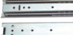 Full Extension Sliding Door Channel Hardware Iron Finishing OEM Service